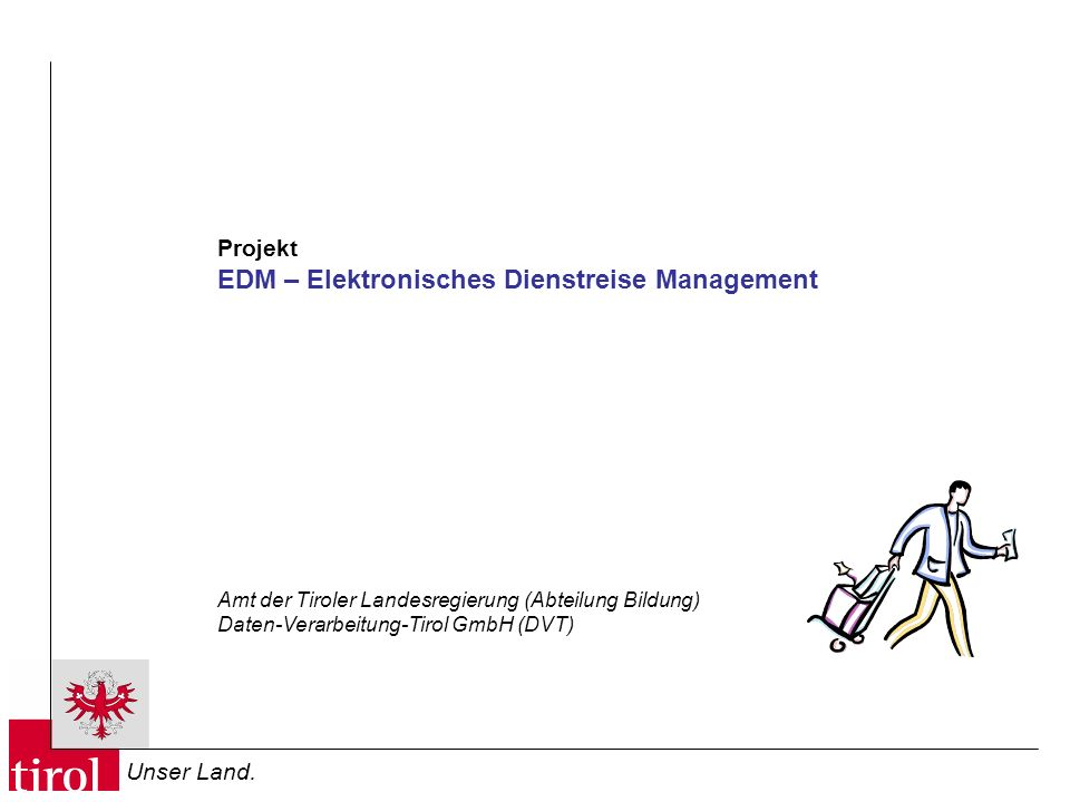 EDM – Elektronisches Dienstreise Management