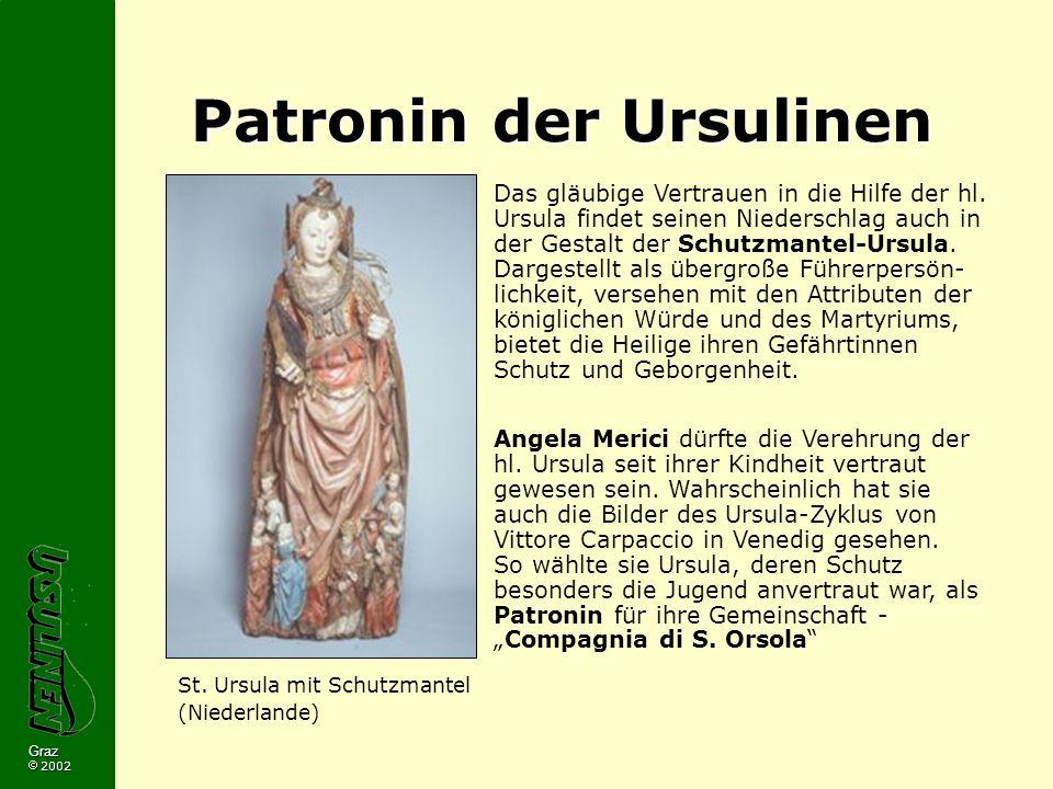 Patronin der Ursulinen