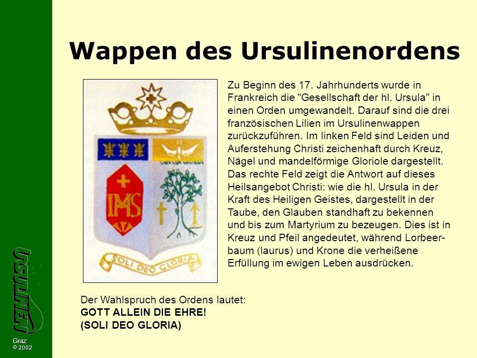 Wappen des Ursulinenordens