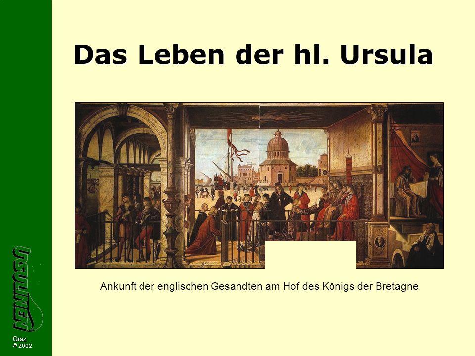 Ankunft der englischen Gesandten am Hof des Königs der Bretagne