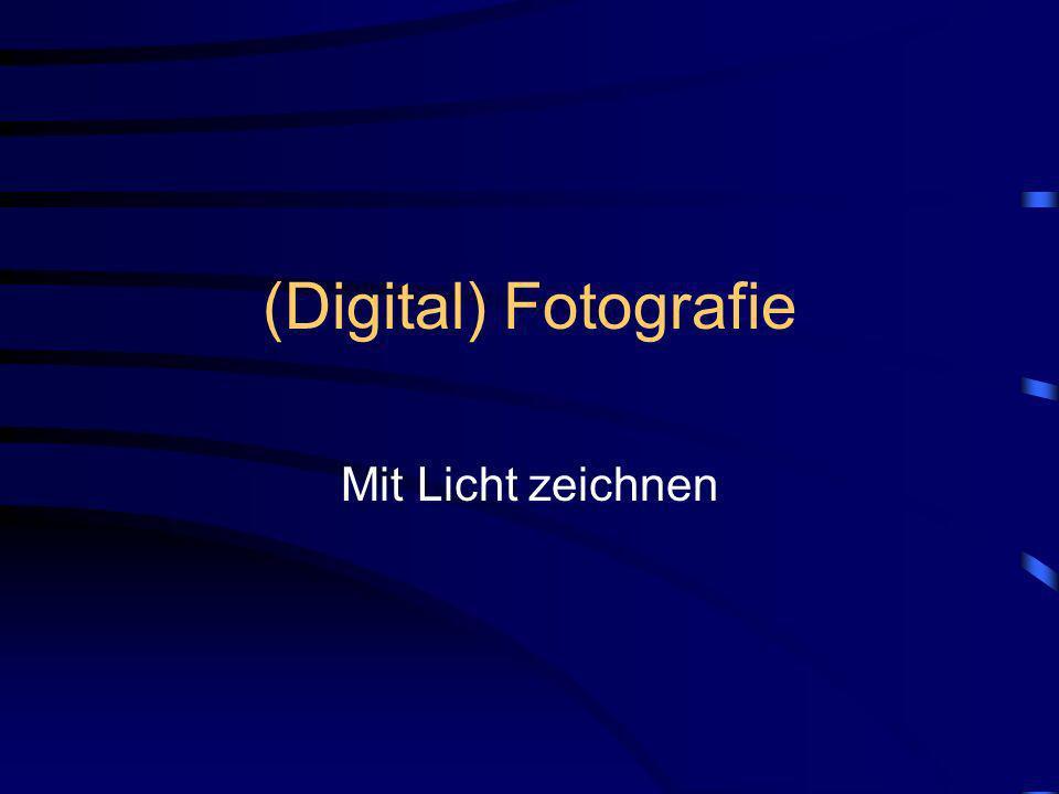 (Digital) Fotografie Mit Licht zeichnen Egal ob analog oder digital