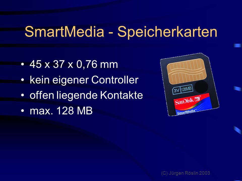 SmartMedia - Speicherkarten