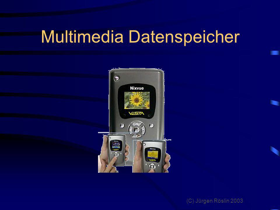 Multimedia Datenspeicher