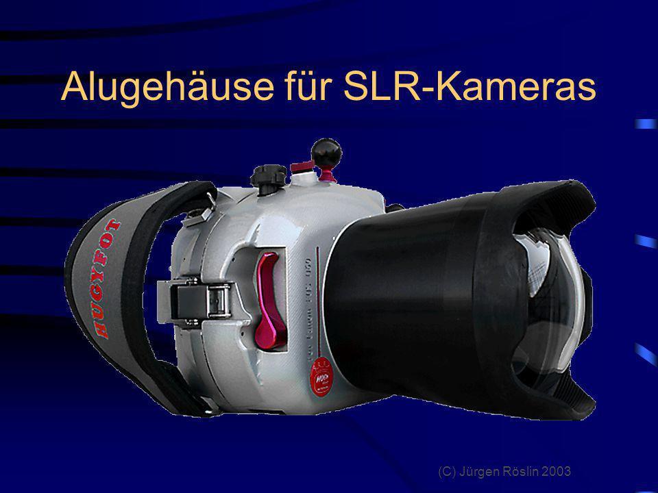 Alugehäuse für SLR-Kameras
