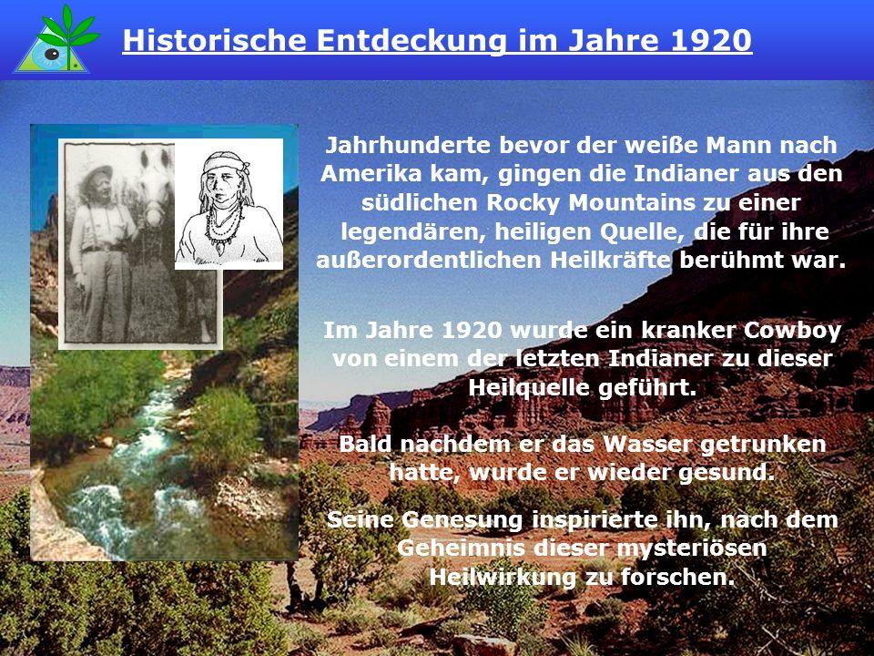 Historische Entdeckung im Jahre 1920