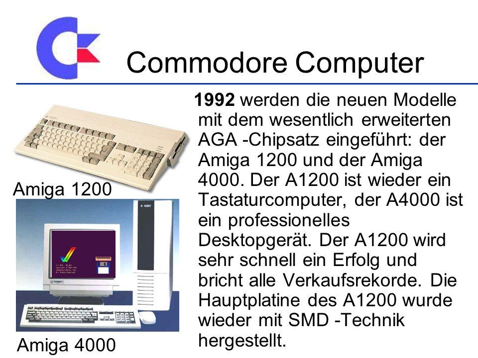 Commodore Computer Amiga 1200 Amiga 4000