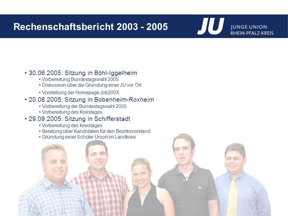 30.06.2005: Sitzung in Böhl-Iggelheim