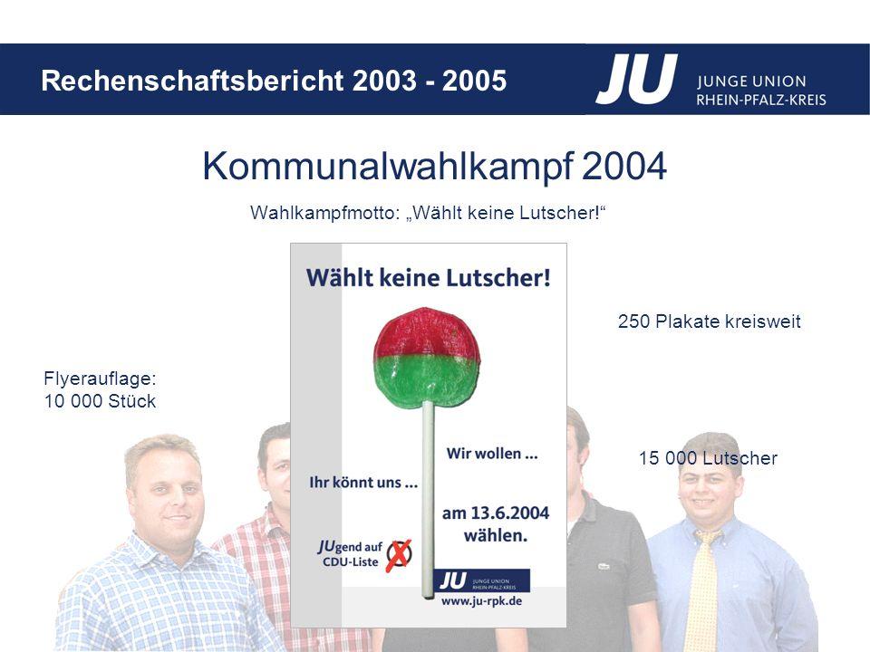 """Wahlkampfmotto: """"Wählt keine Lutscher!"""