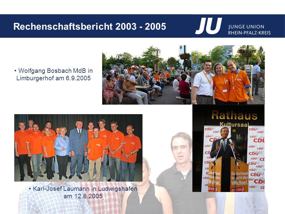 Wolfgang Bosbach MdB in Limburgerhof am 6.9.2005