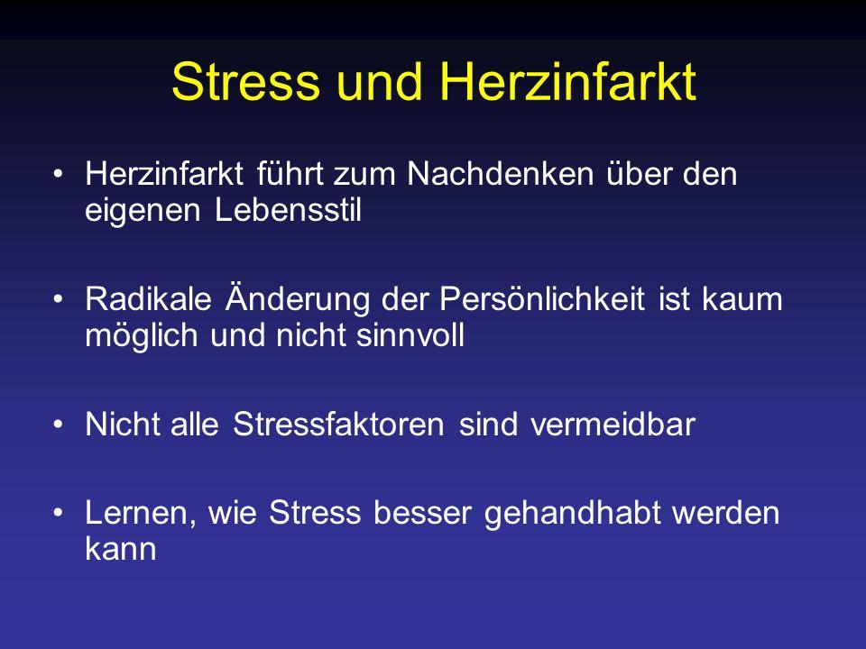 Stress und Herzinfarkt