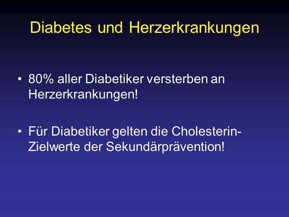 Diabetes und Herzerkrankungen