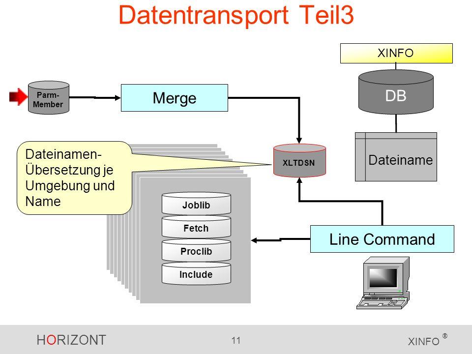 Datentransport Teil3 DB Merge Line Command Dateiname Dateinamen-