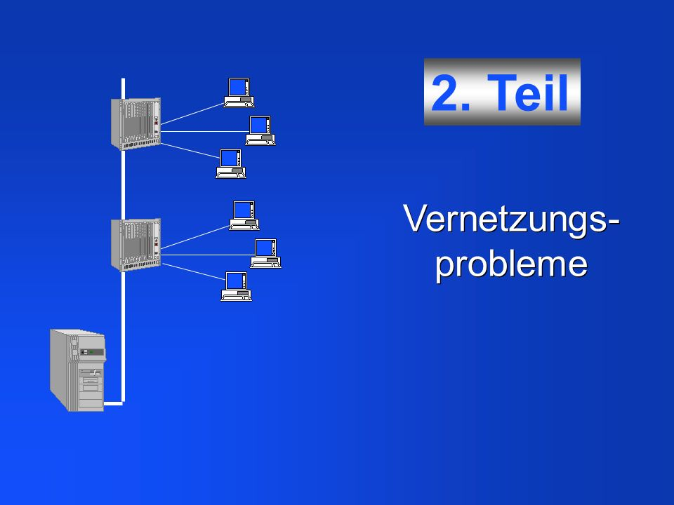 Vernetzungs-probleme