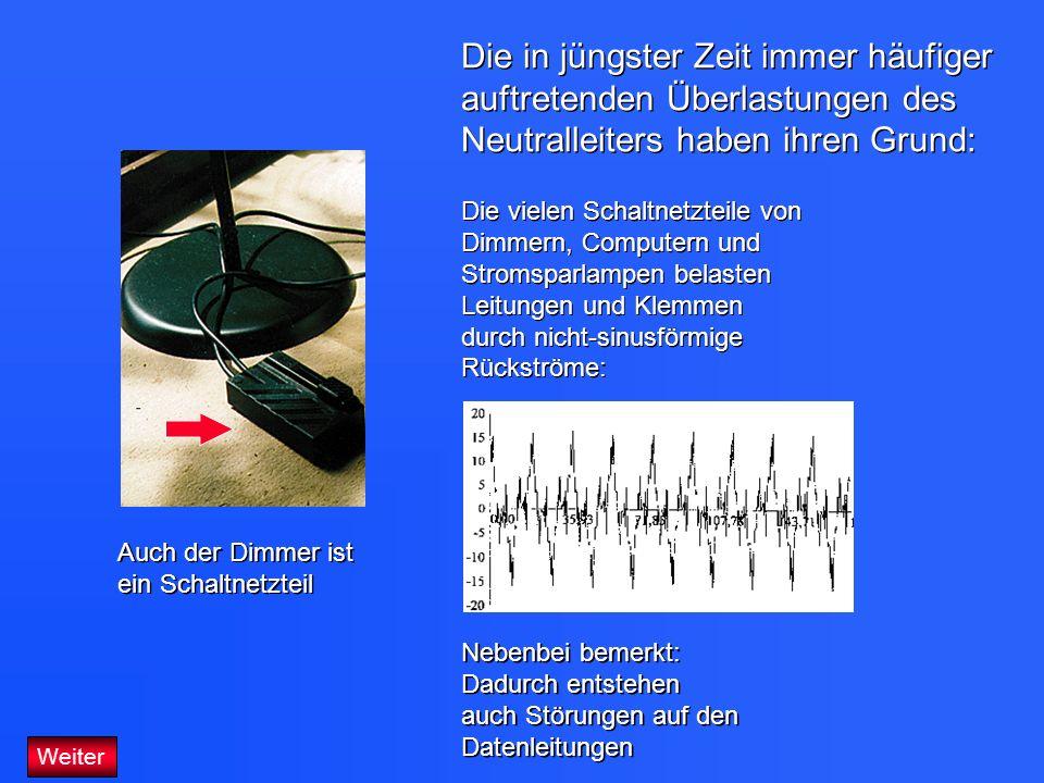 Niedlich Verbrannter Neutralleiter Galerie - Elektrische ...