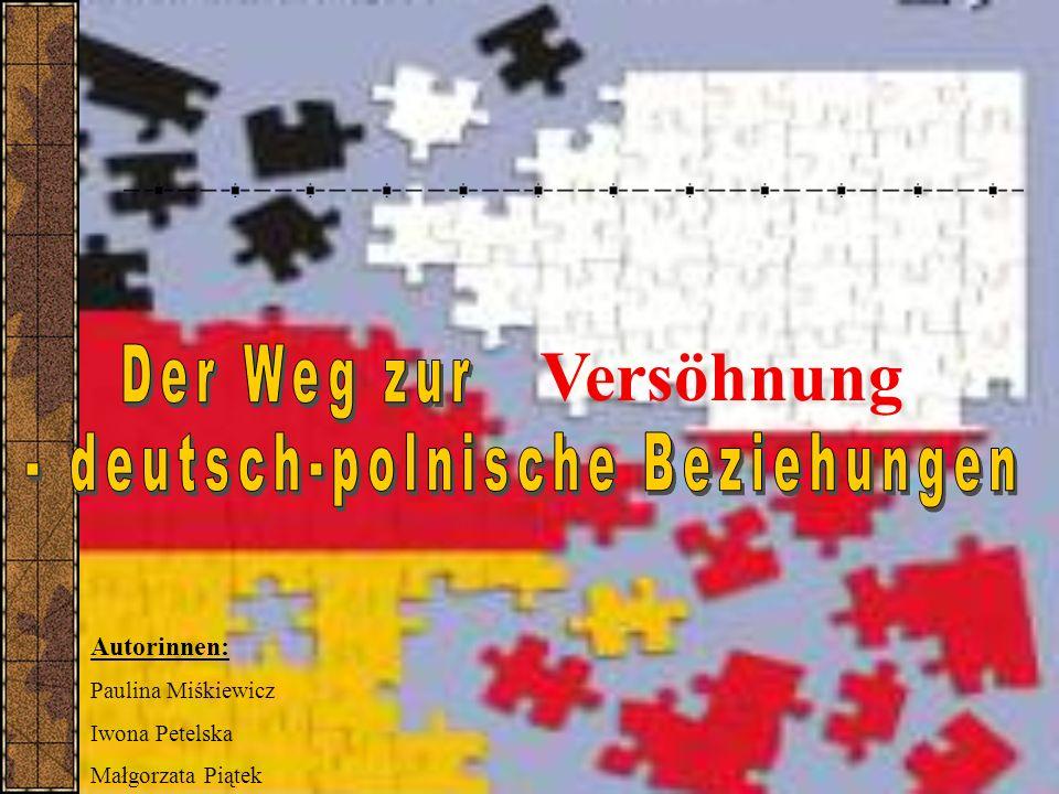 - deutsch-polnische Beziehungen