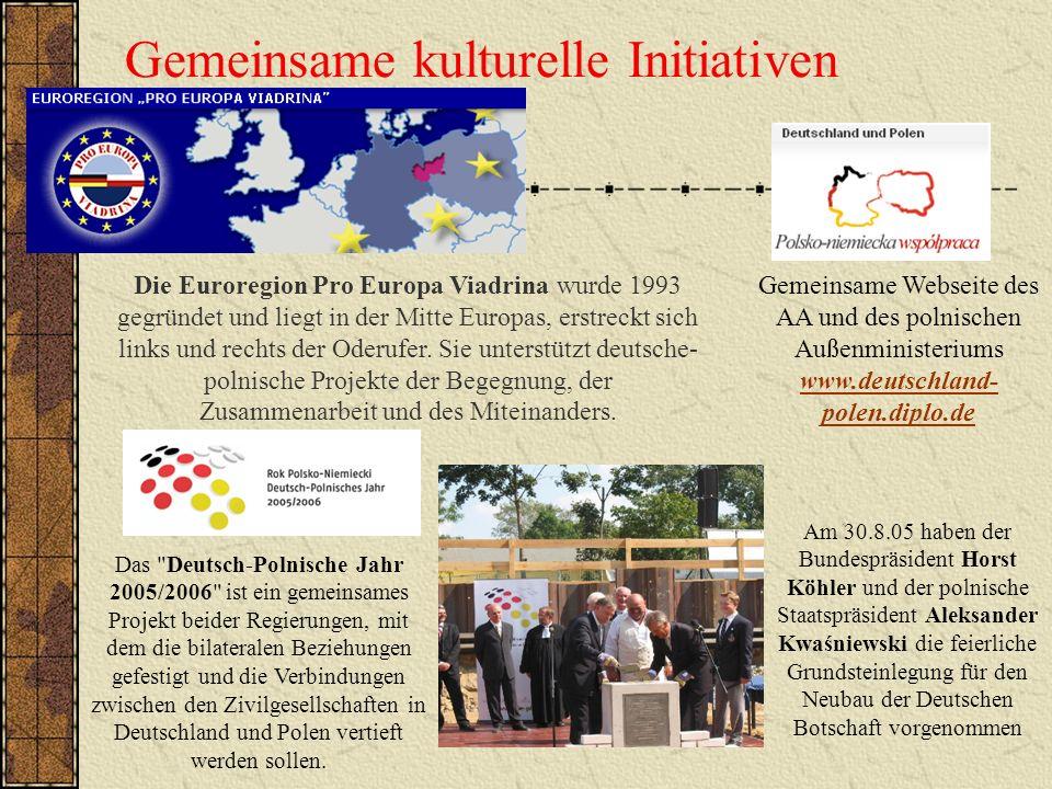 Gemeinsame kulturelle Initiativen