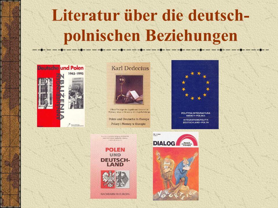 Literatur über die deutsch-polnischen Beziehungen