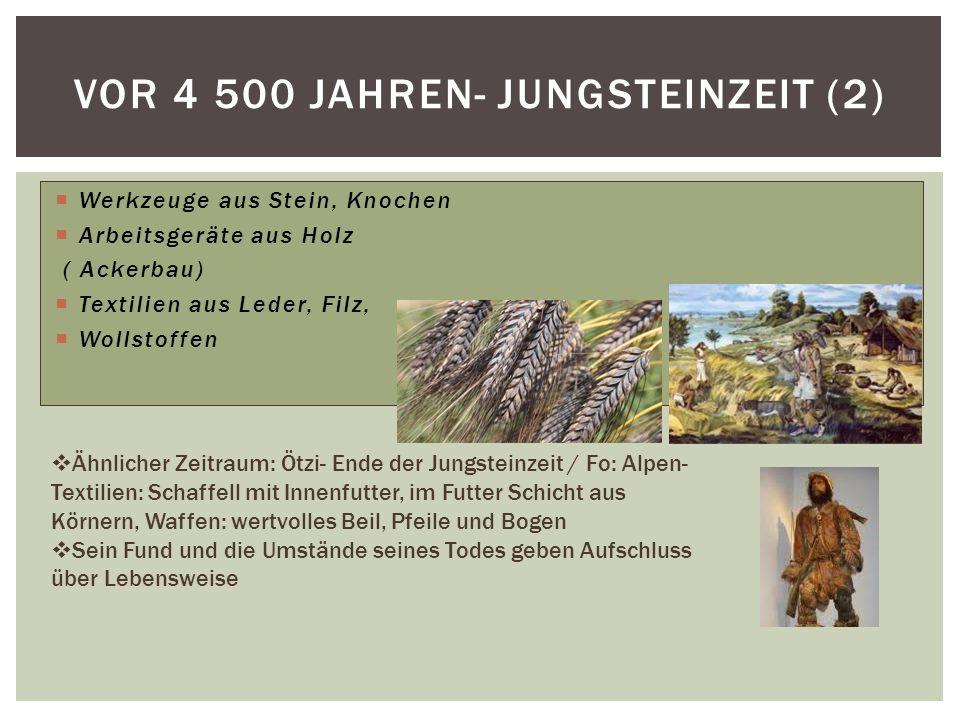 Vor 4 500 jahren- Jungsteinzeit (2)
