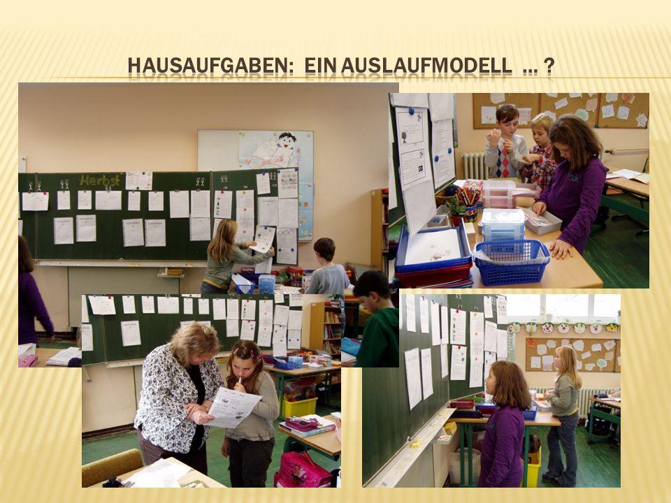 Hausaufgaben: ein auslaufmodell …