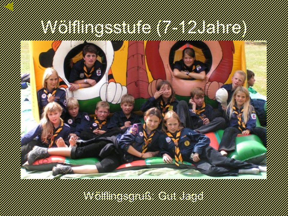 Wölflingsstufe (7-12Jahre)