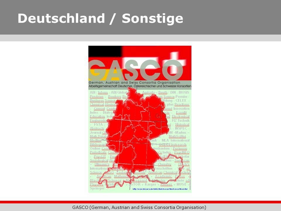 Deutschland / Sonstige