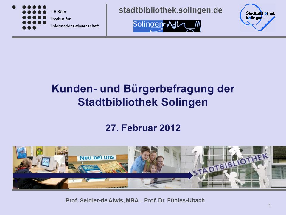 Kunden- und Bürgerbefragung der Stadtbibliothek Solingen 27