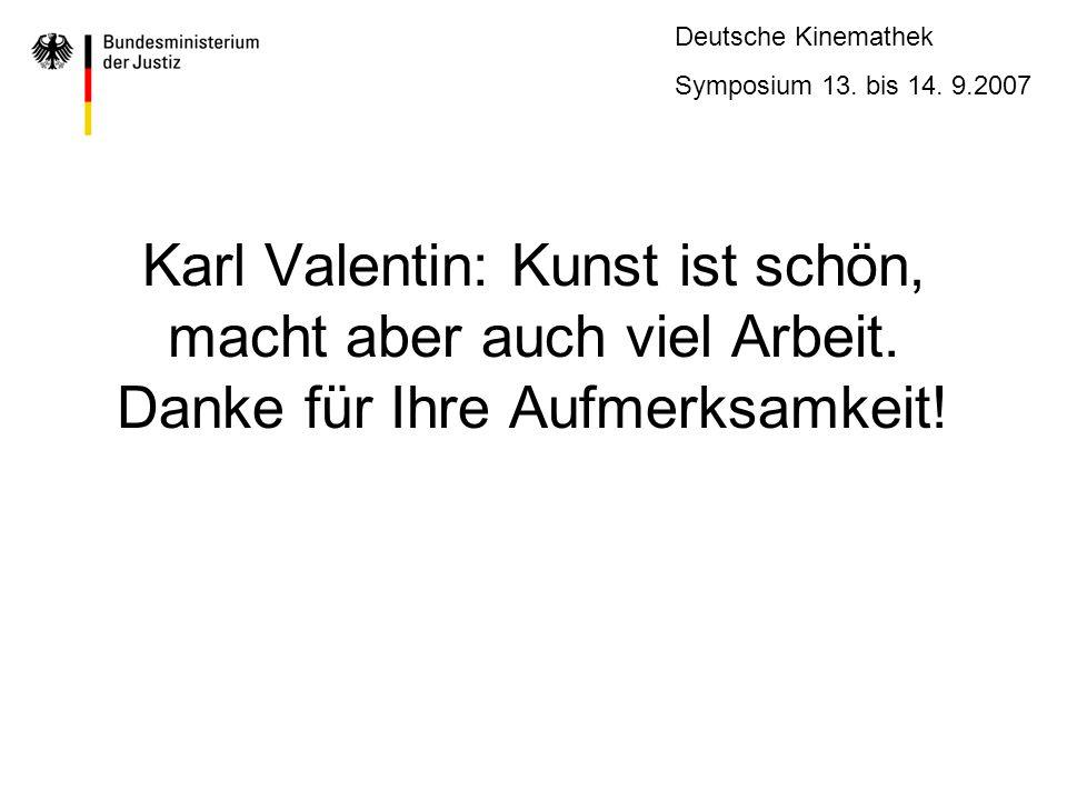 Karl Valentin: Kunst ist schön, macht aber auch viel Arbeit