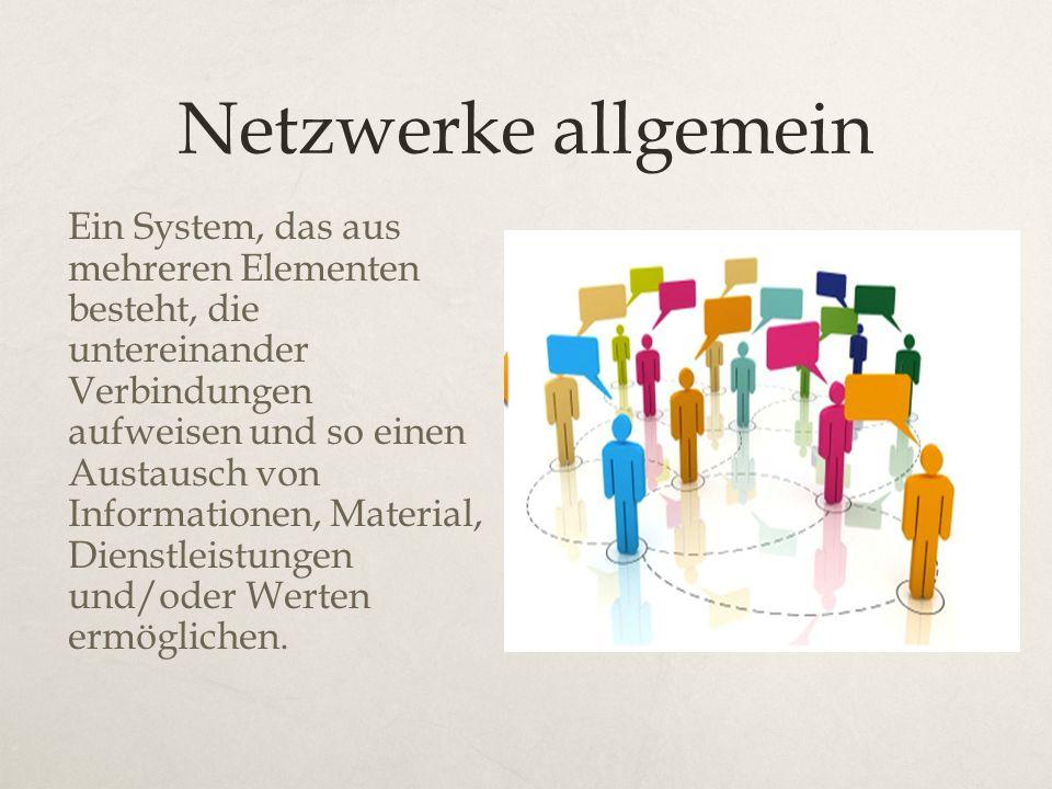 Netzwerke allgemein