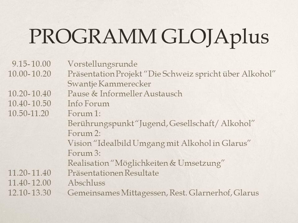 PROGRAMM GLOJAplus