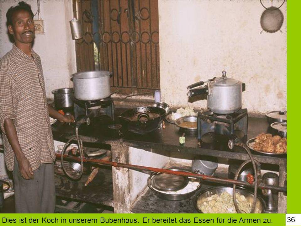 Dies ist der Koch in unserem Bubenhaus