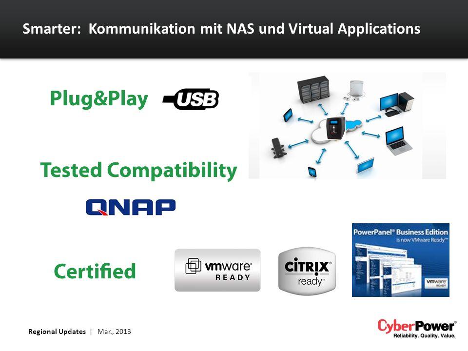 Smarter: Kommunikation mit NAS und Virtual Applications