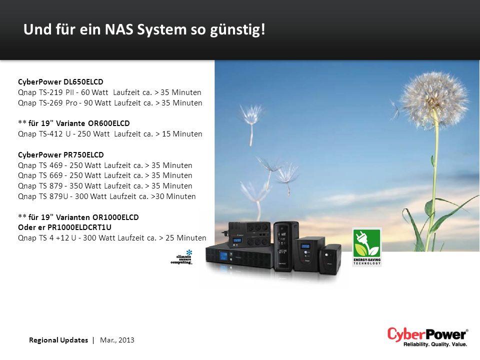 Und für ein NAS System so günstig!
