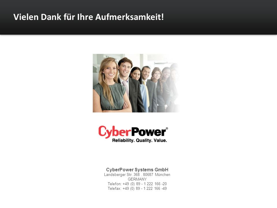 CyberPower Systems GmbH