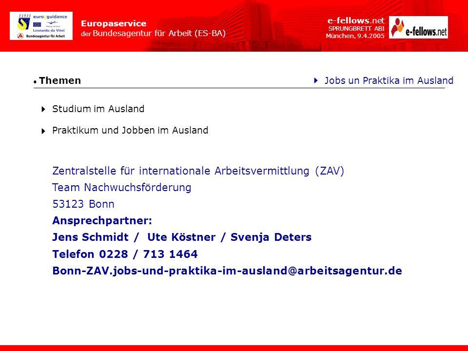 Zentralstelle für internationale Arbeitsvermittlung (ZAV)