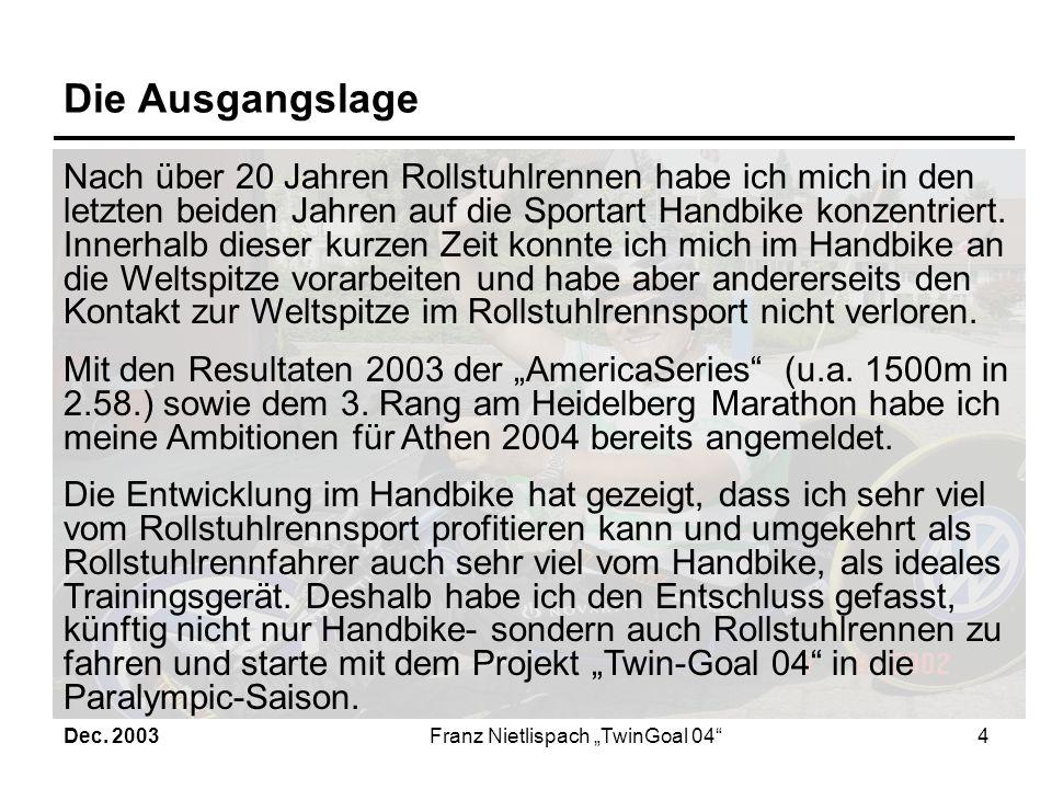 """Franz Nietlispach """"TwinGoal 04"""