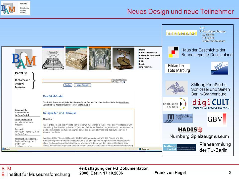 Neues Design und neue Teilnehmer