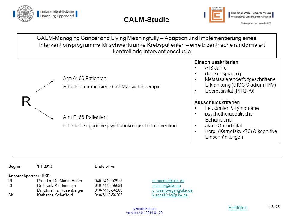CALM-Studie