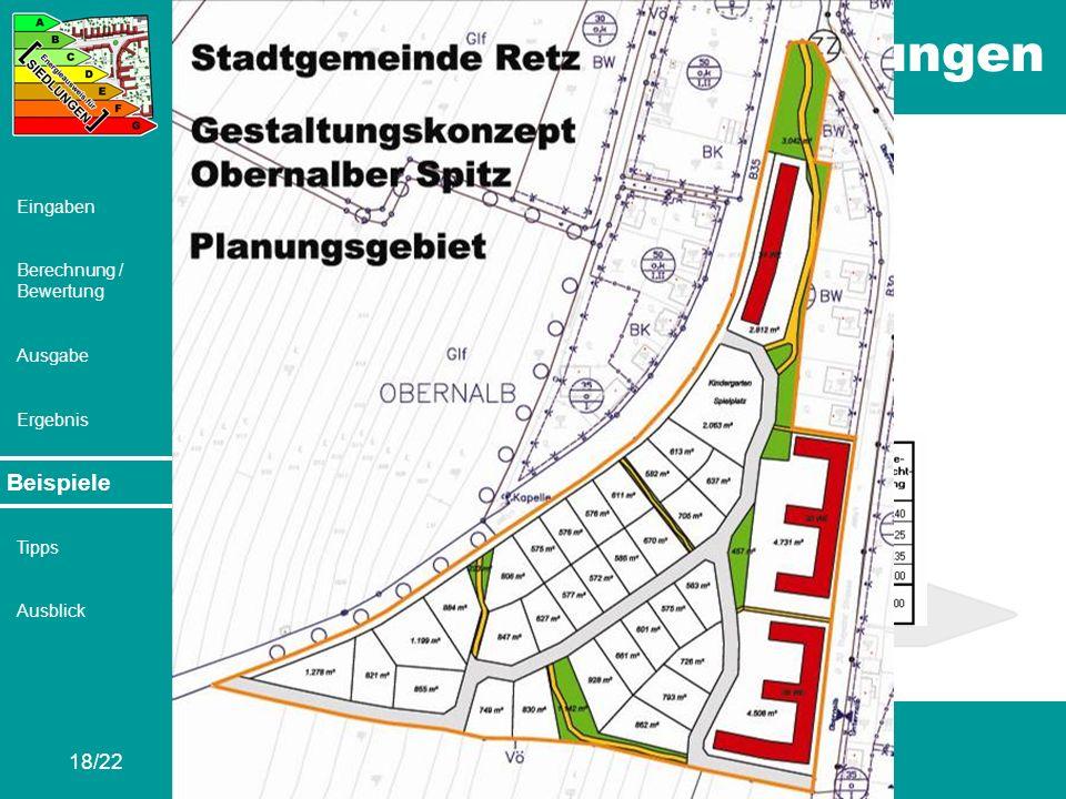 Beispiele Retz – Obernalber Spitz V2b: Ca. 4,9 Hektar