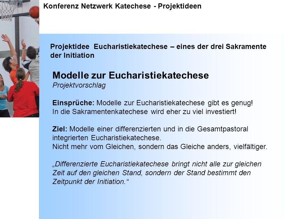 Modelle zur Eucharistiekatechese