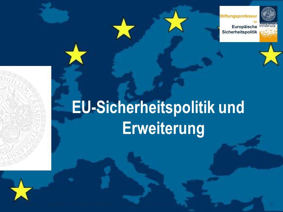 EU-Sicherheitspolitik und Erweiterung