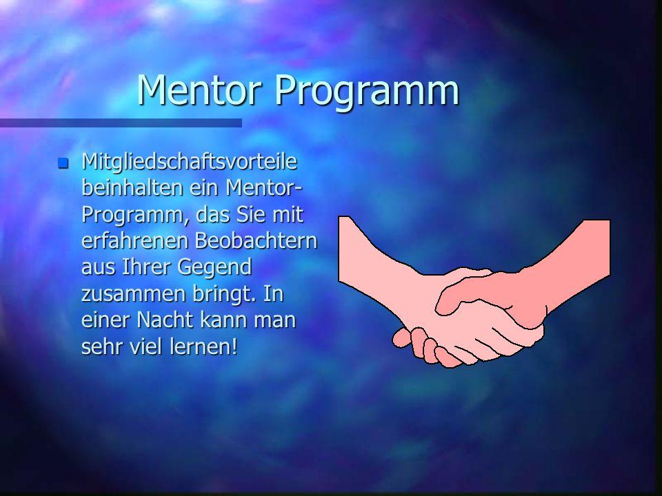 Mentor Programm