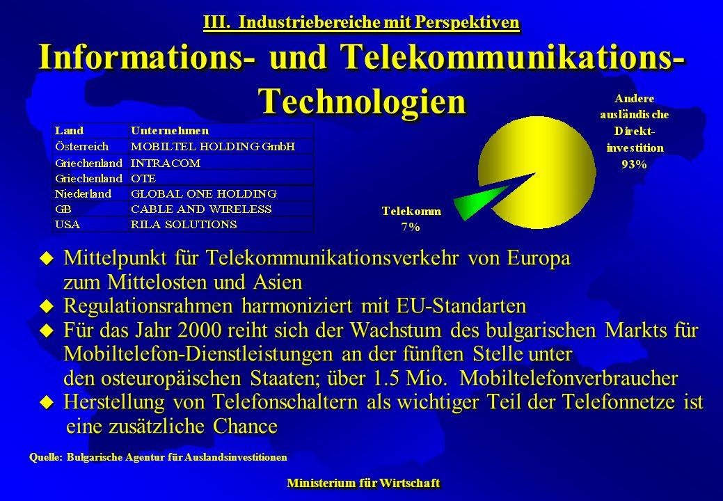 Regulationsrahmen harmoniziert mit EU-Standarten
