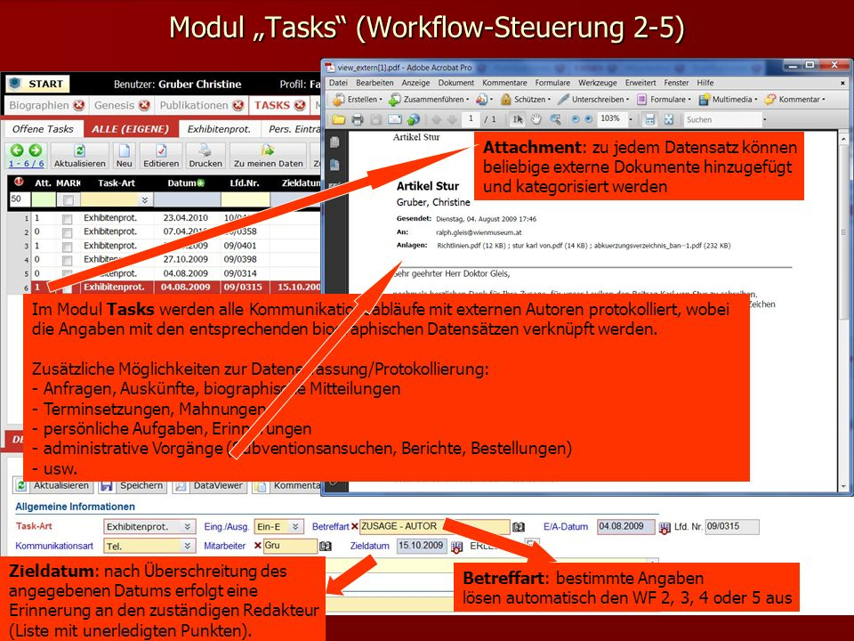 "Modul ""Tasks (Workflow-Steuerung 2-5)"