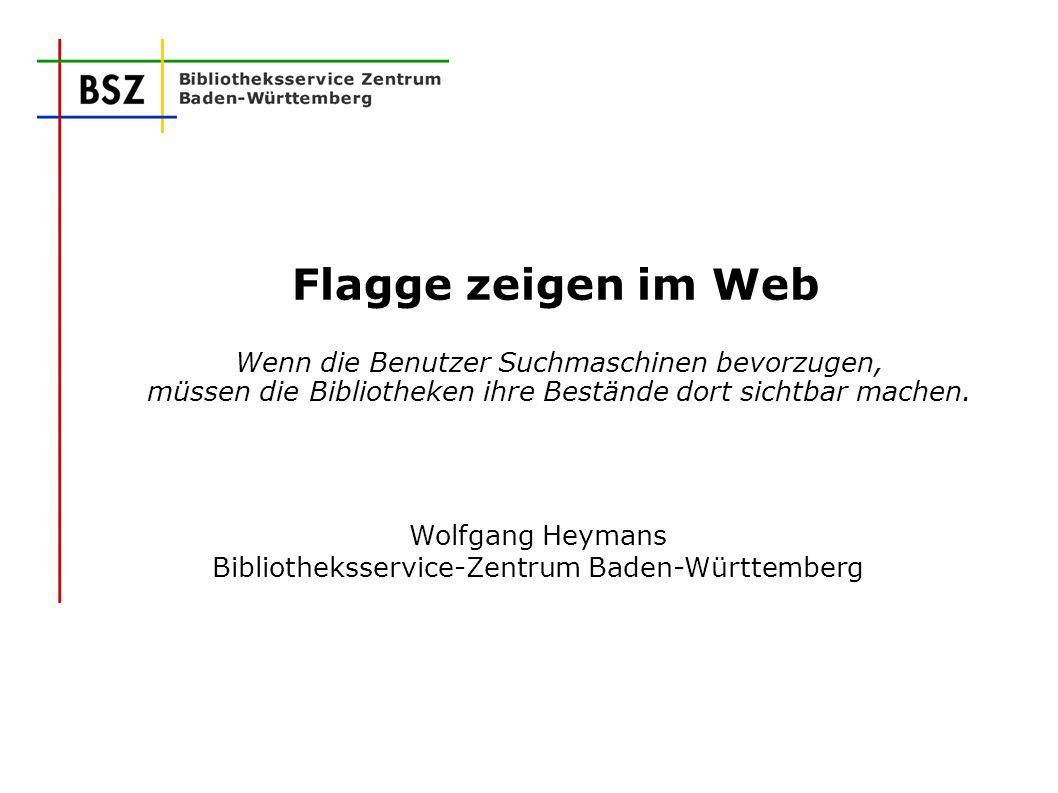 Wolfgang Heymans Bibliotheksservice-Zentrum Baden-Württemberg