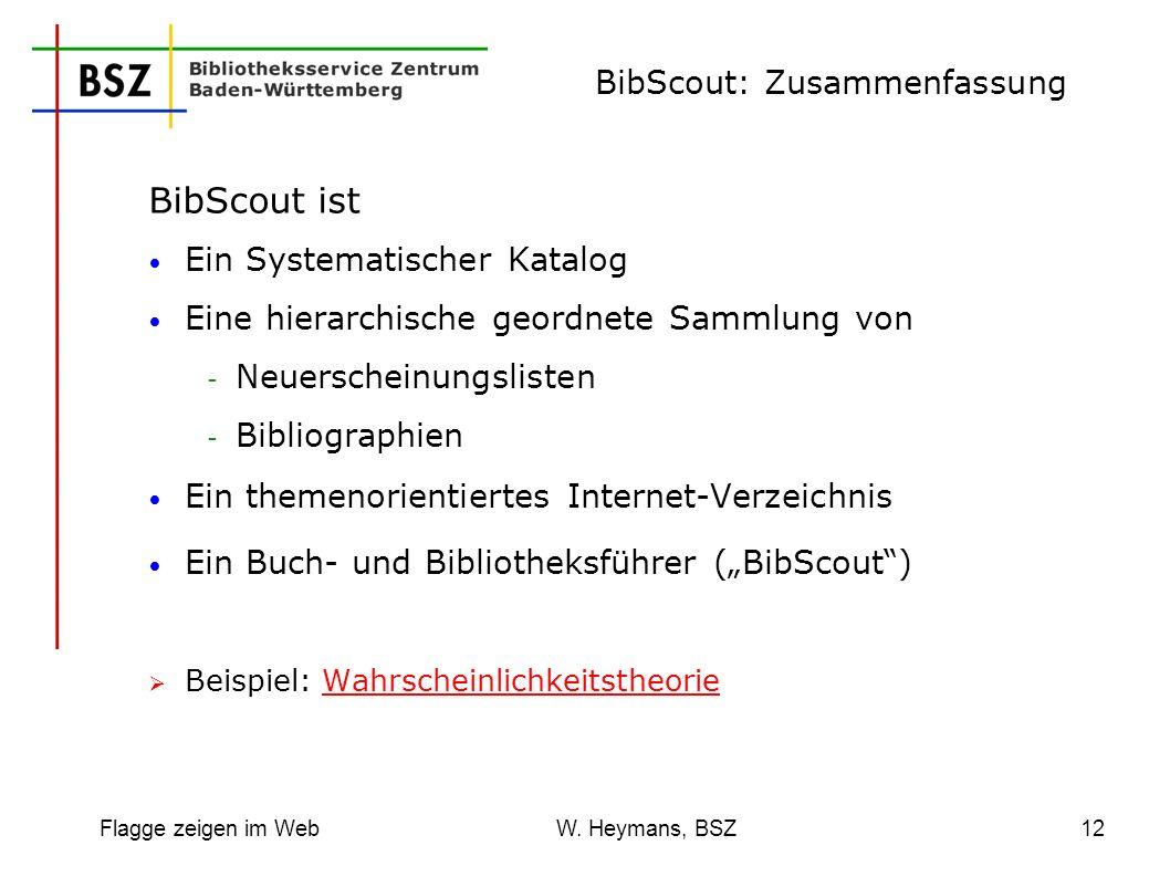 BibScout: Zusammenfassung