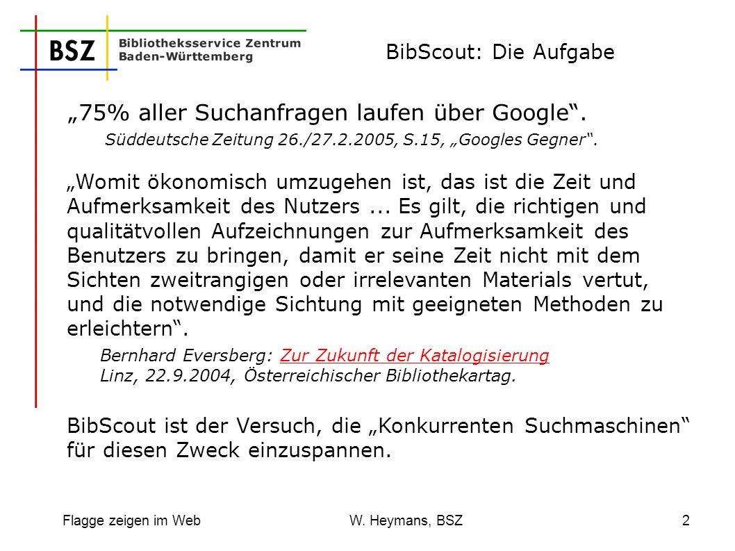 """""""75% aller Suchanfragen laufen über Google ."""