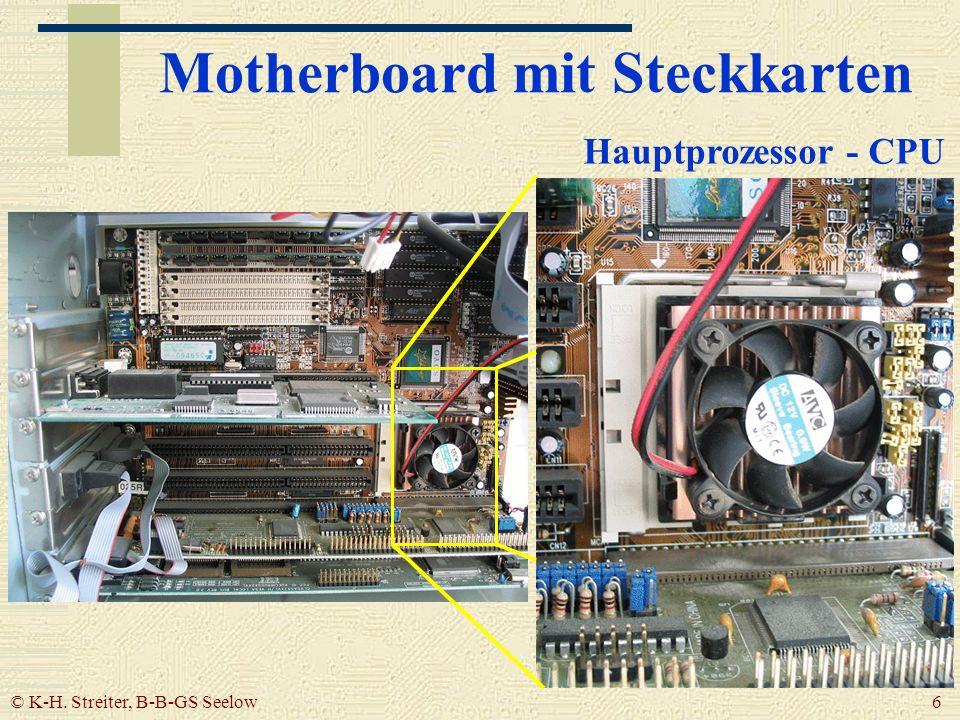 Motherboard mit Steckkarten