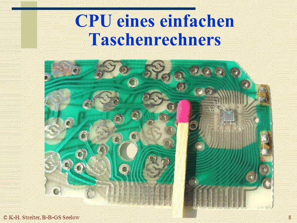 CPU eines einfachen Taschenrechners