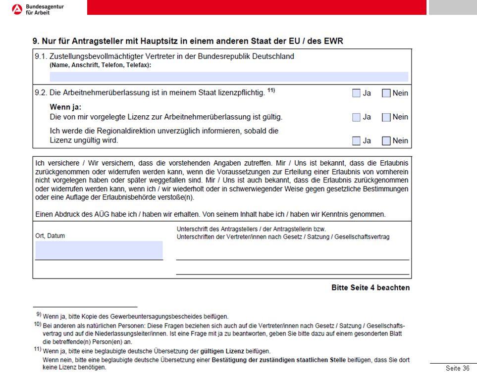 Formulare - Antrag Unterschrift wieder des gesetzlichen Vertreters
