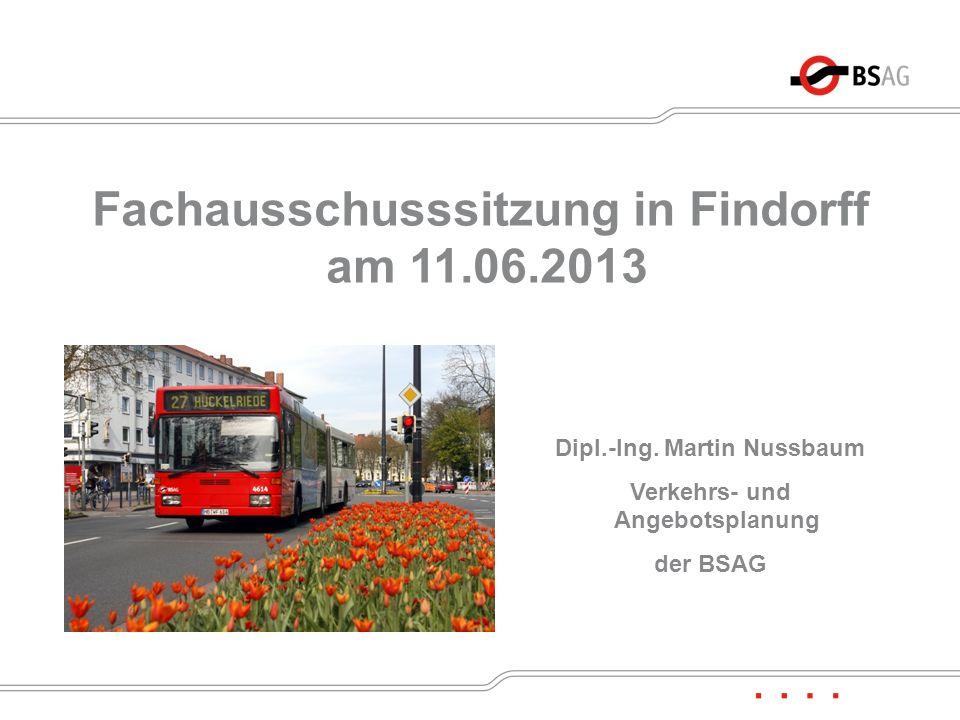Fachausschusssitzung in Findorff am 11.06.2013